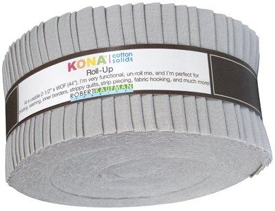 2 1/2 Roll - Kona Solids - Ash