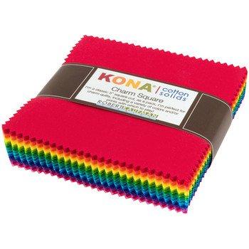 Charm Pack - Kona Bright Colorstory