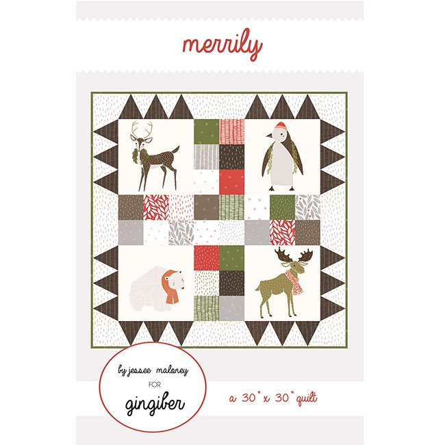 Gingiber - Merrily Wall Quilt