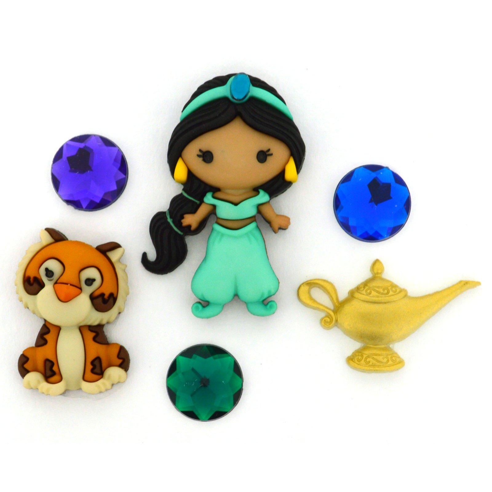 Buttons - Disney Princess Jasmine