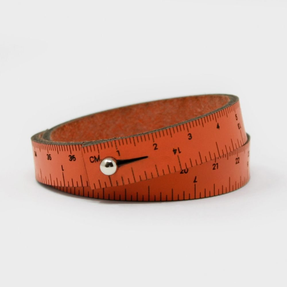 Maker Bling - 16 Wrist Ruler - Orange