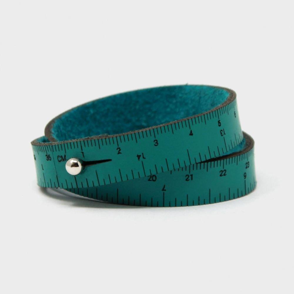 Maker Bling - 16 Wrist Ruler - Teal