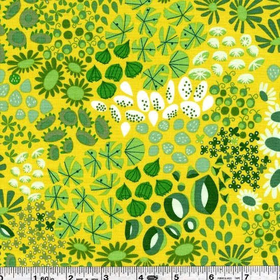 The Lovely Hunt - Wild Meadow - Green Yellow