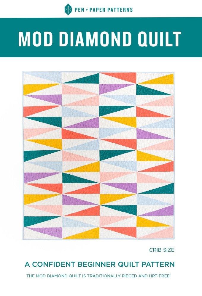 Pen + Paper Patterns - Mod Diamond Quilt