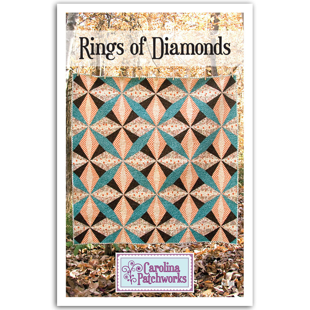 Carolina Patchworks - Rings of Diamonds Quilt Pattern
