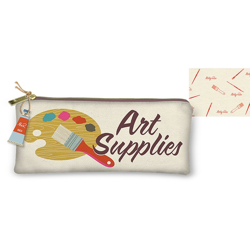 Zipper Pouch - Art Supplies
