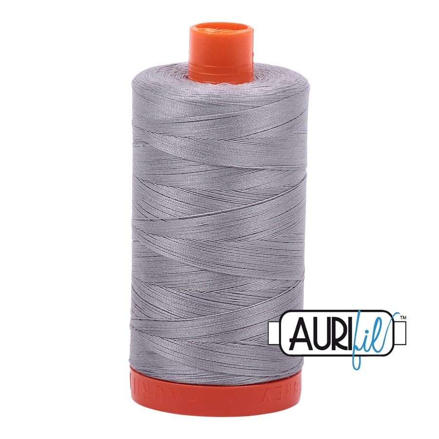 AURIfil Thread - 50wt 100% Cotton Mako Thread - Mist #2606