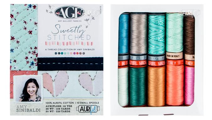 Aurifil Premium Collection - Amy Sinibaldi - Sweetly Stitched