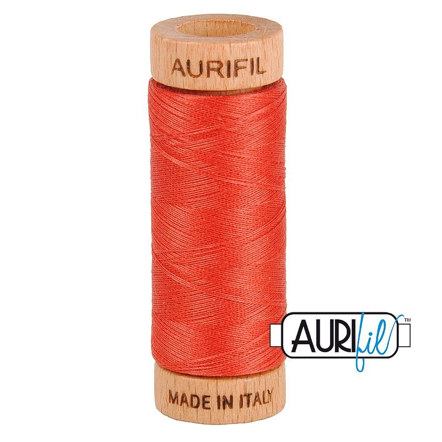 AURIfil Thread - 80wt 100% Cotton - 300 Yards