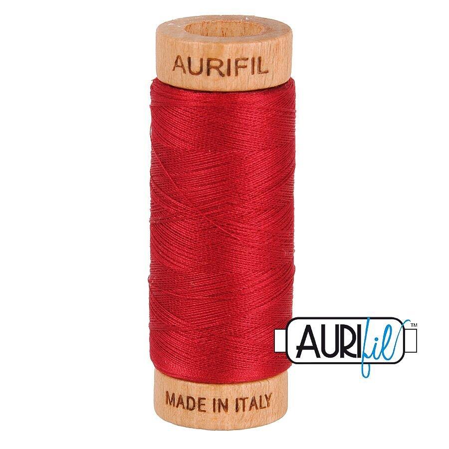 AURIfil Thread - 80wt 100% Cotton - 300 Yards