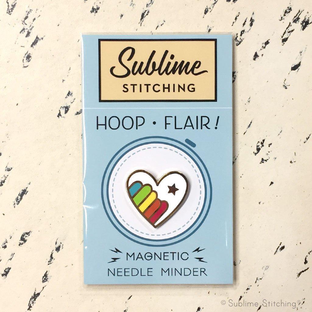 Needle Minder - Sublime Stitching Rainbow Heart
