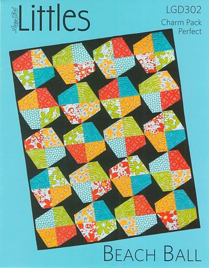 Lazy Girl - Beach Ball Quilt Pattern