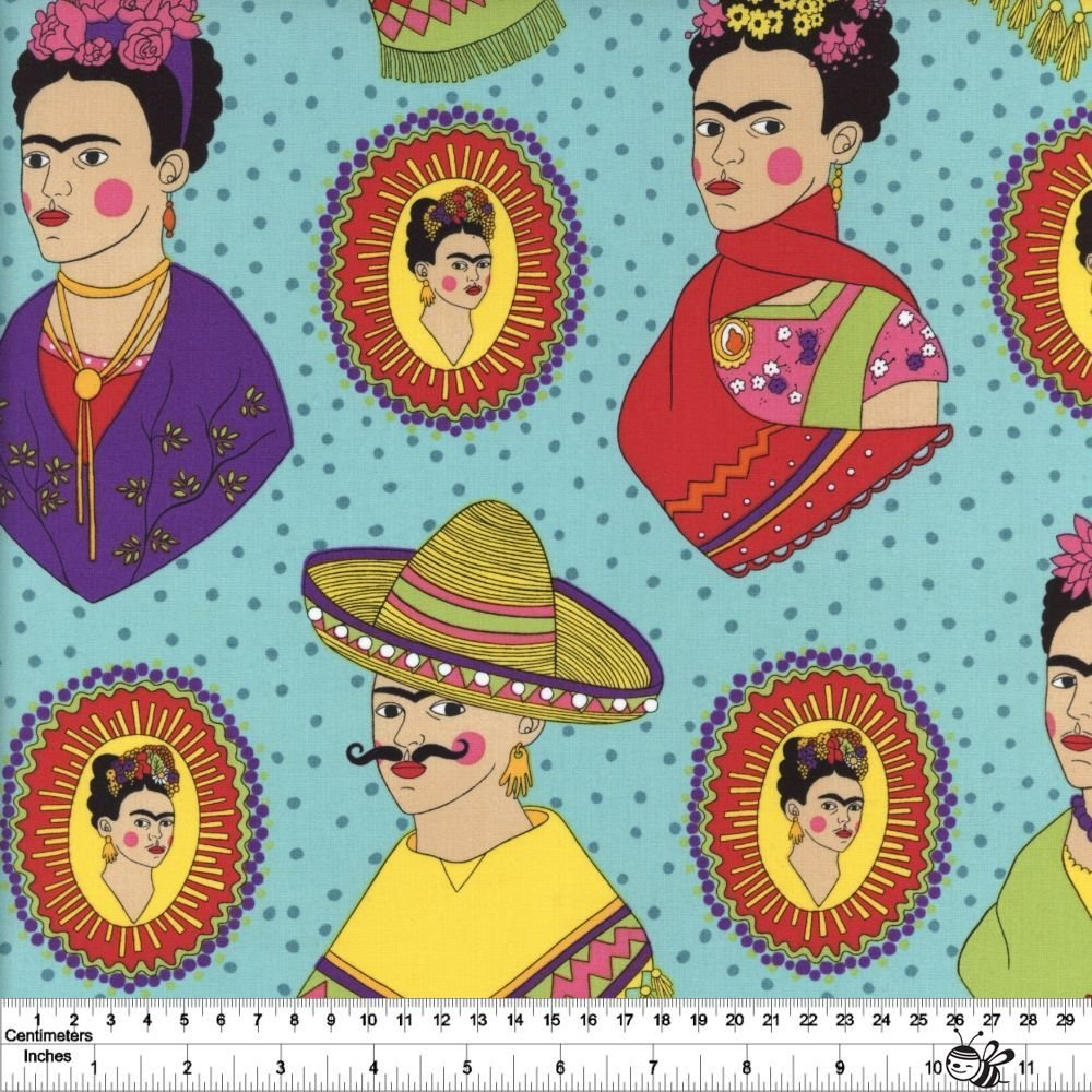 Folklorico - Fantastico Frida - Turquoise
