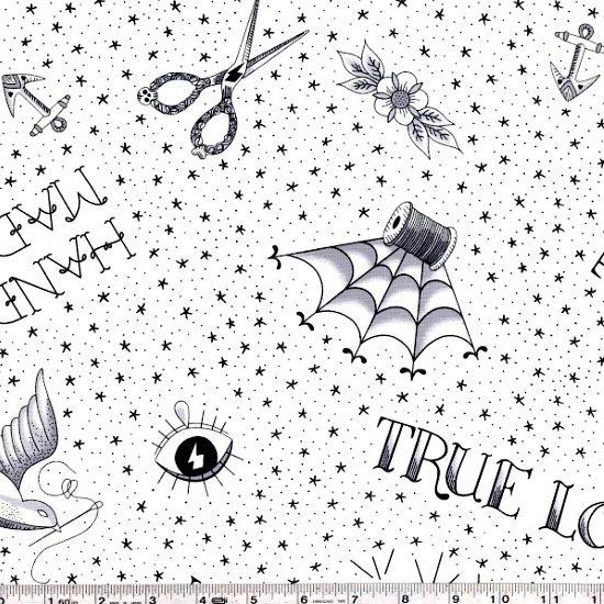 True Love - Flash - Black on White