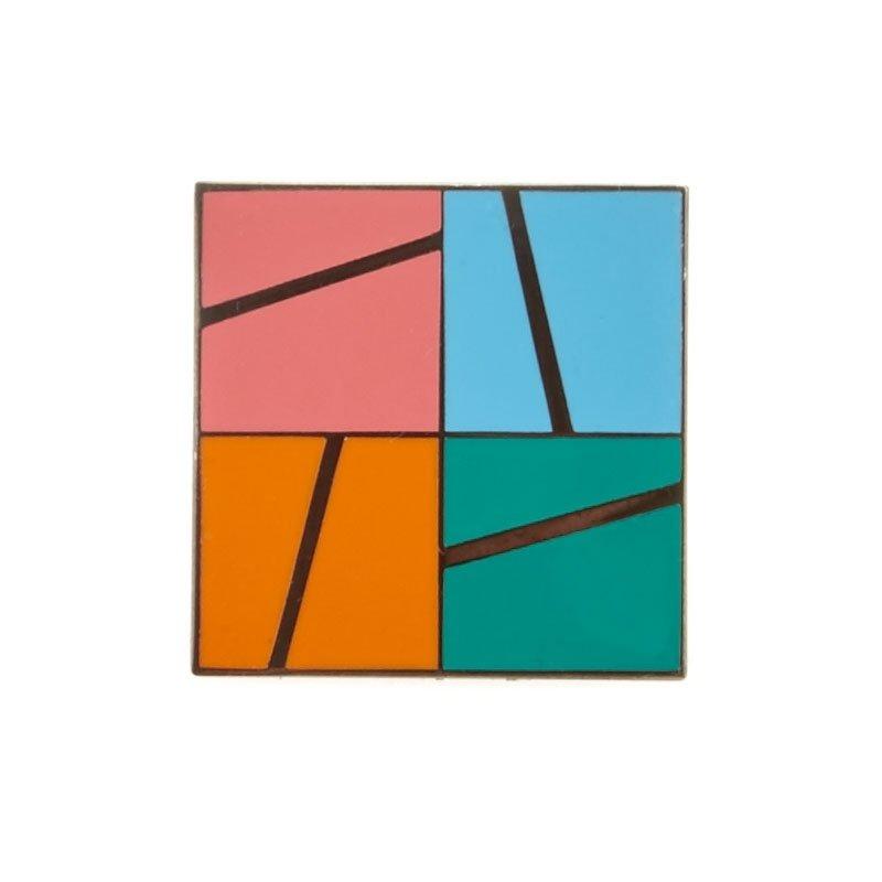 Enamel Pin - Slice a Block