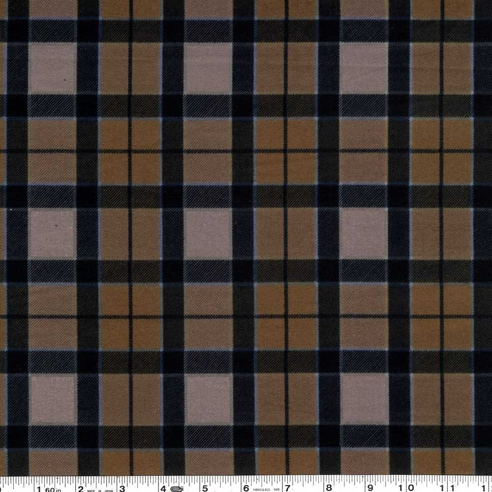Outlander - Plaid Flannel - Black