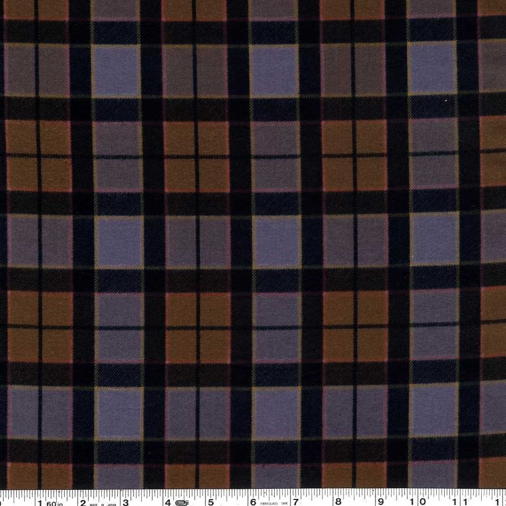Outlander - Plaid Flannel - Brown