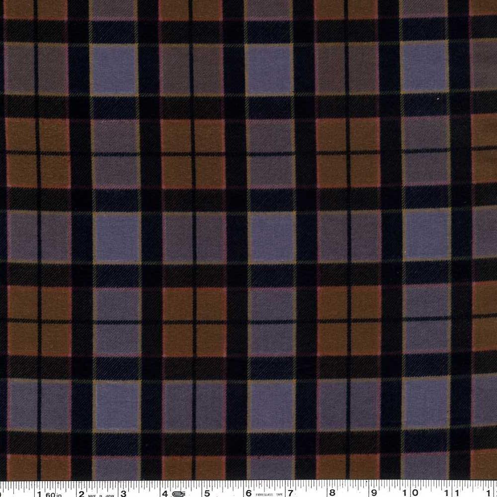 Outlander - Plaid Flannel - Brown