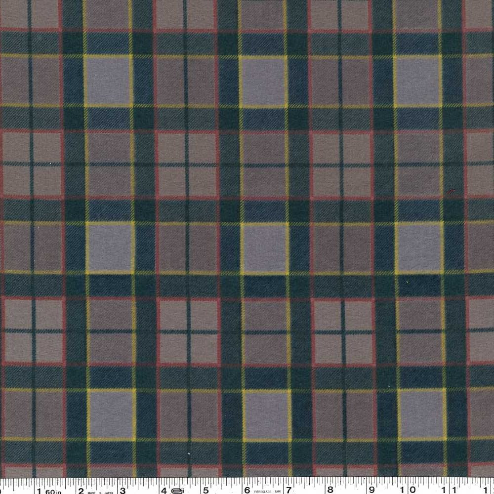 Outlander - Plaid Flannel - Teal