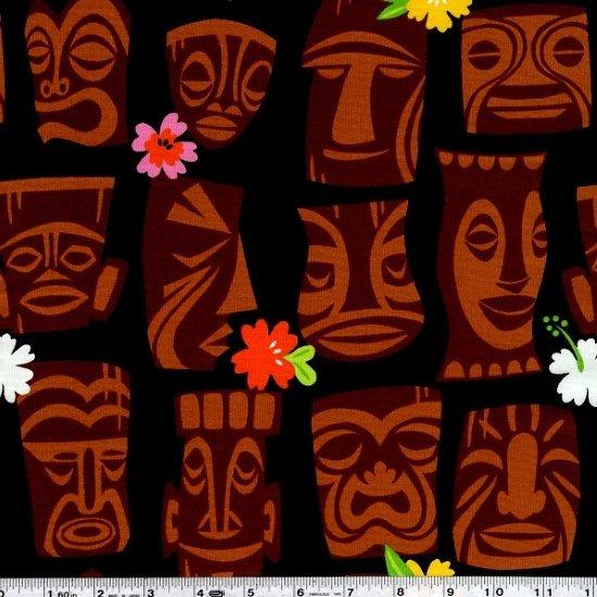 Tiki Dream - Tahiti Tiki - Black