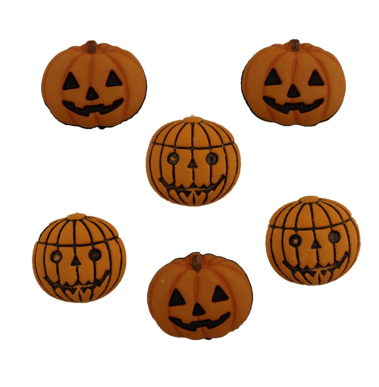 Buttons - Jack O Lanterns