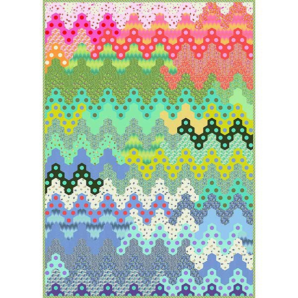 Hex on the Beach Quilt - Template + Papers