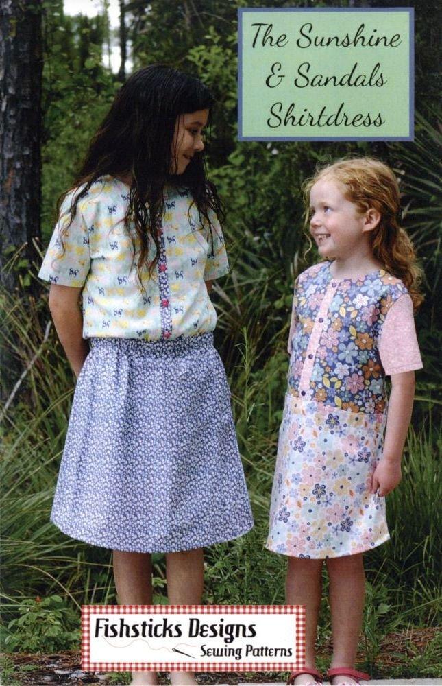 Fishsticks Designs - Sunshine & Sandals Shirtdress - 12M - 8