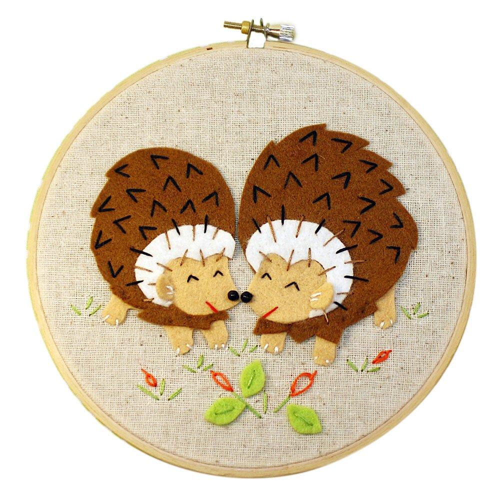Heidi Boyd Whimsy Stitches - Hedgies