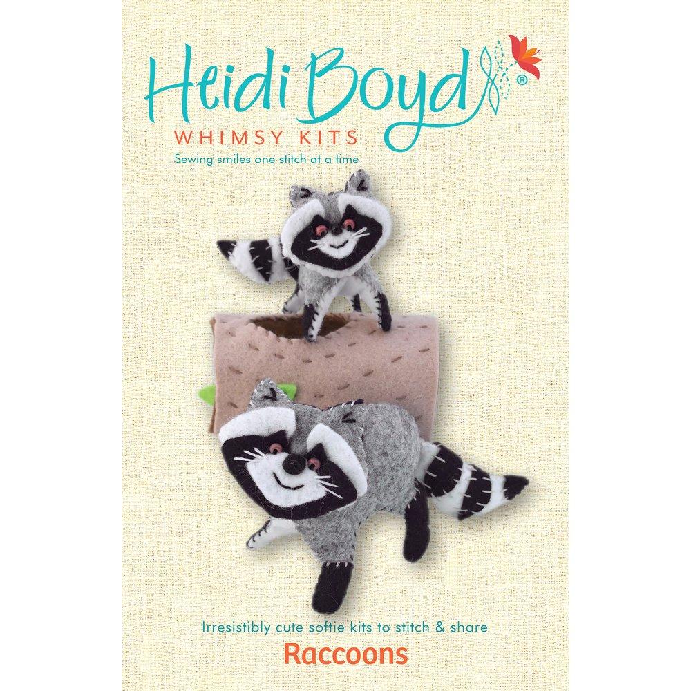 Heidi Boyd Whimsy Kits - Raccoons