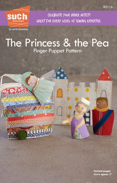 Such Designs - The Princess & the Pea Finger Puppet Pattern
