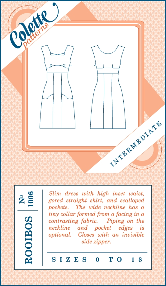 Colette Patterns - Rooibos