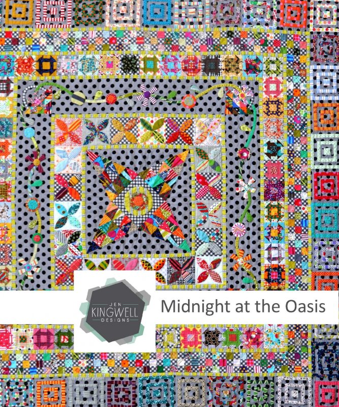 Jen Kingwell Designs - Midnight at the Oasis
