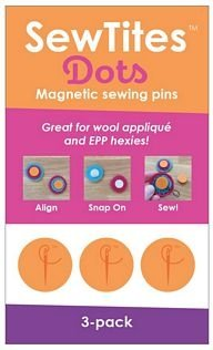 SewTites Dots Magnetic Sewing Pins - 3-Pack