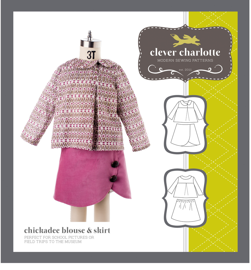 Clever Charlotte - Chickadee Blouse & Skirt