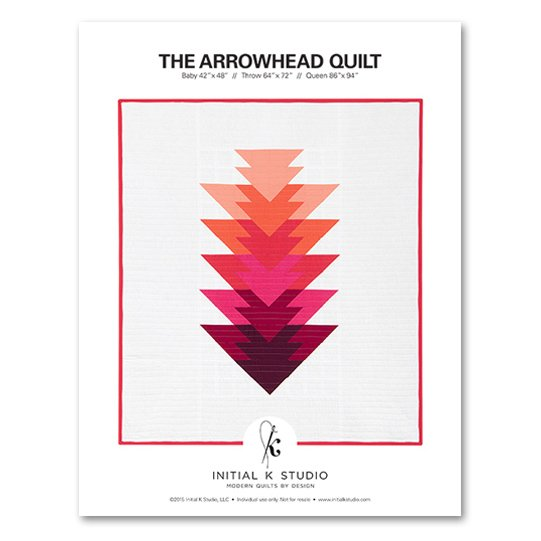 Initial K Studio - The Arrowhead Quilt