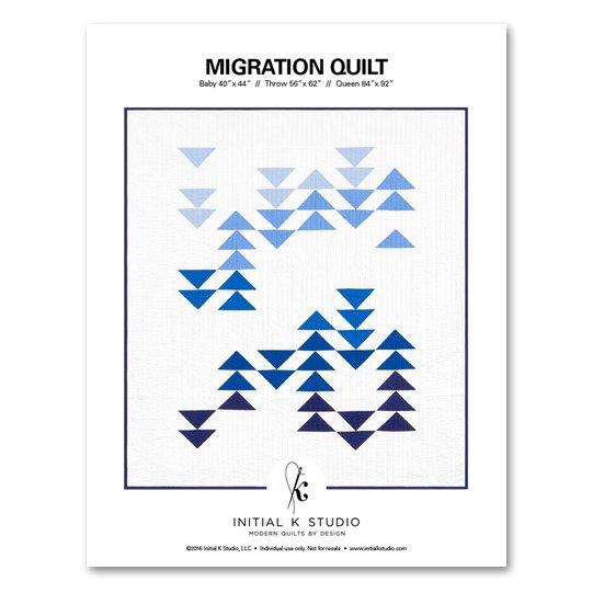 Initial K Studio - Migration Quilt