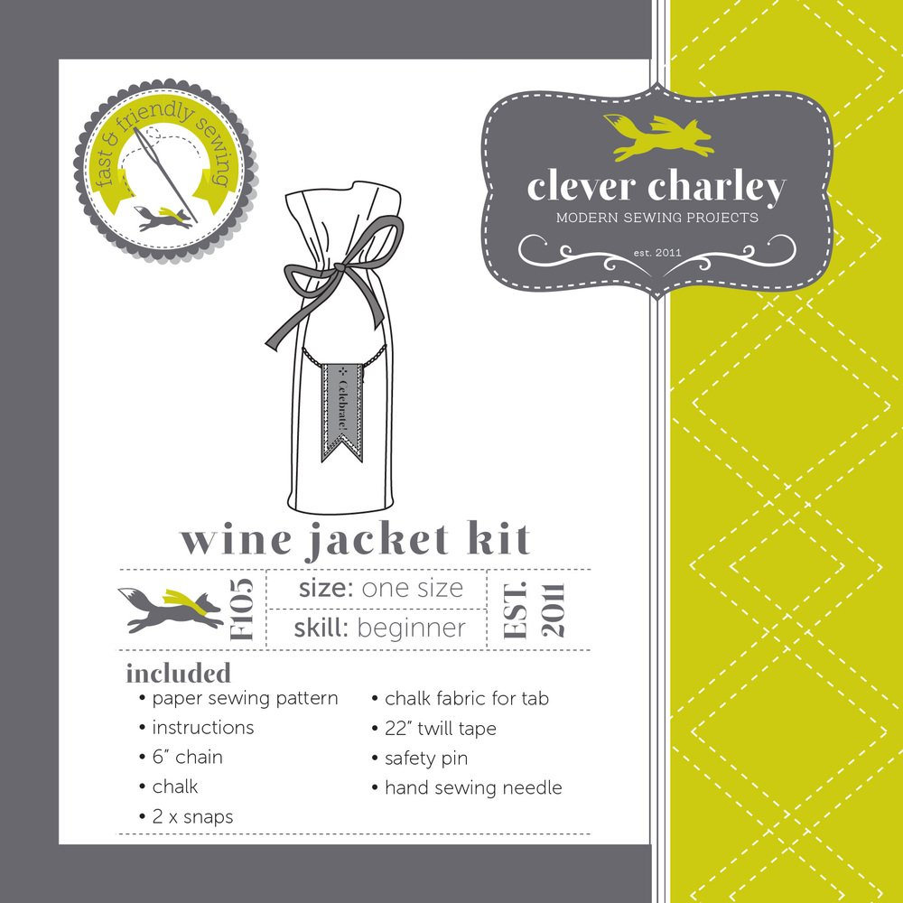 Clever Charley - Wine Jacket Kit