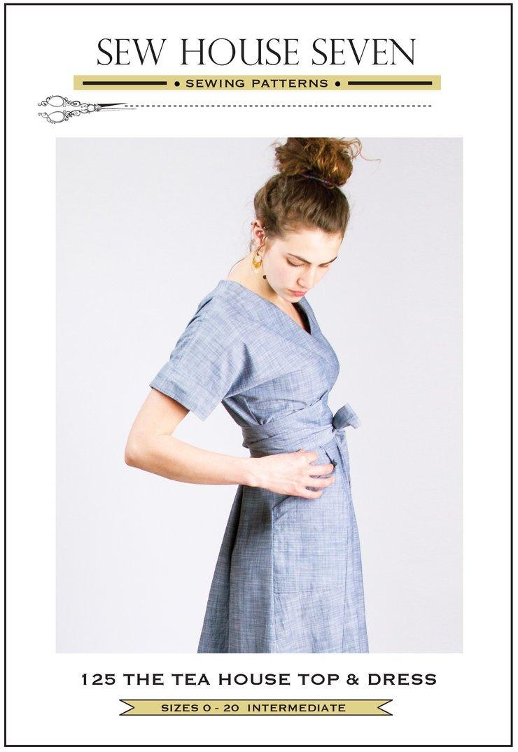 Sew House Seven - The Tea House Top & Dress