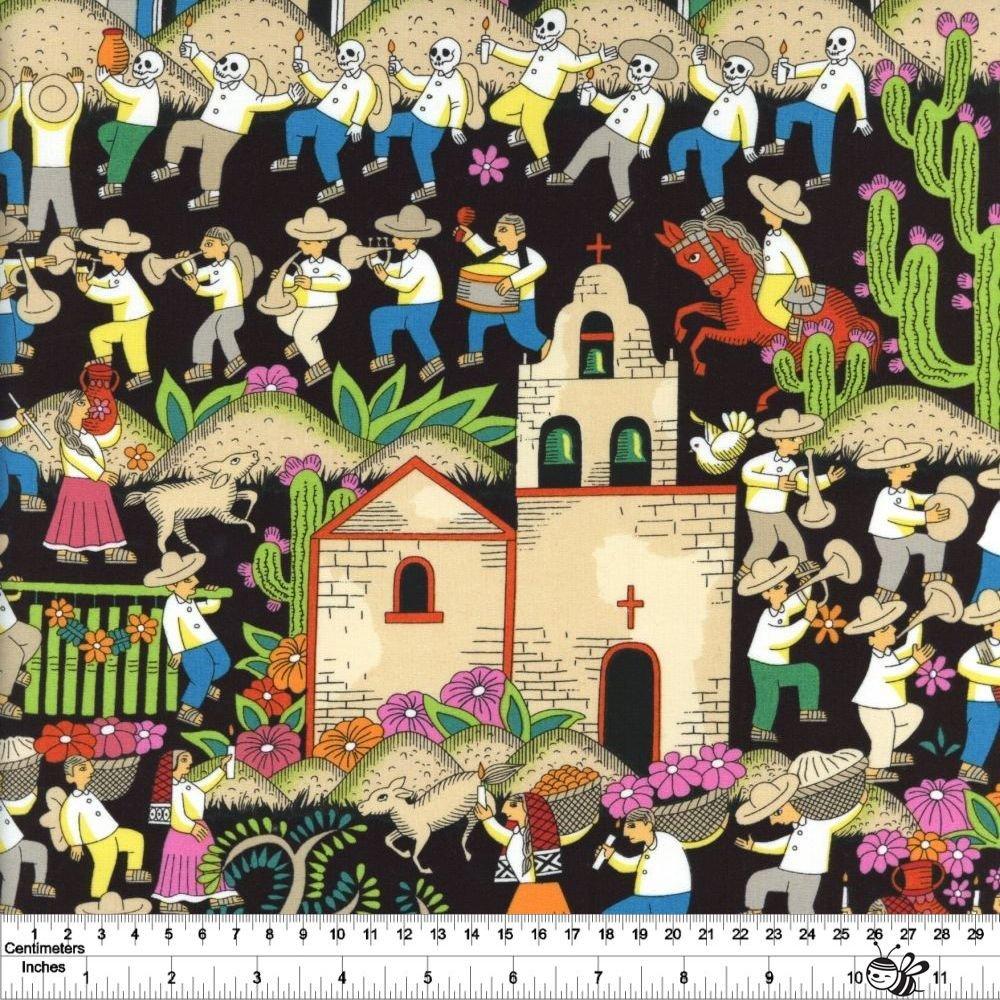 Folklorico - Puebla - Black Brights