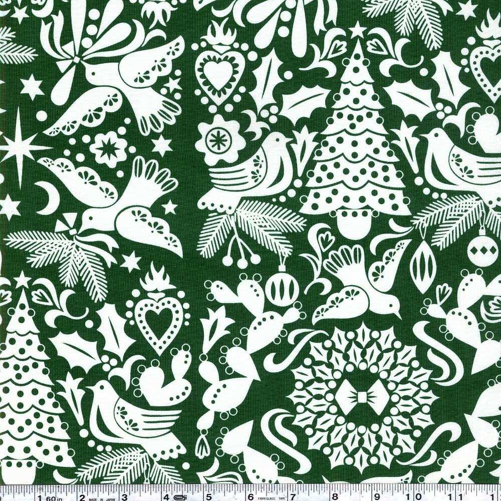 Folklorico - Paloma Navidad - Green