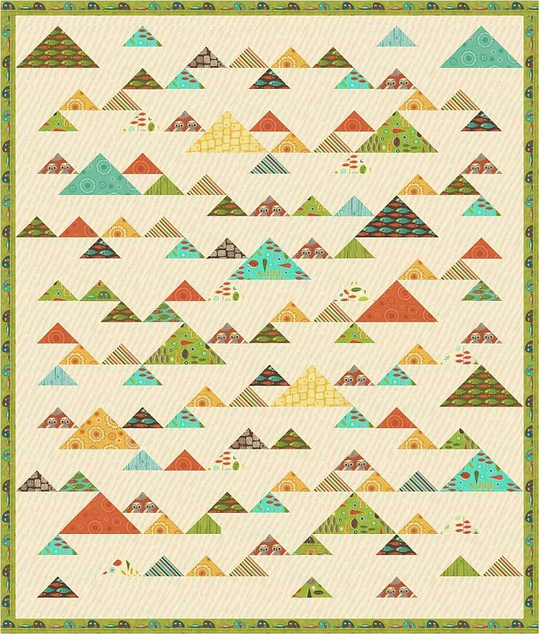 Aunt Em's Quilts - Mountain Retreat