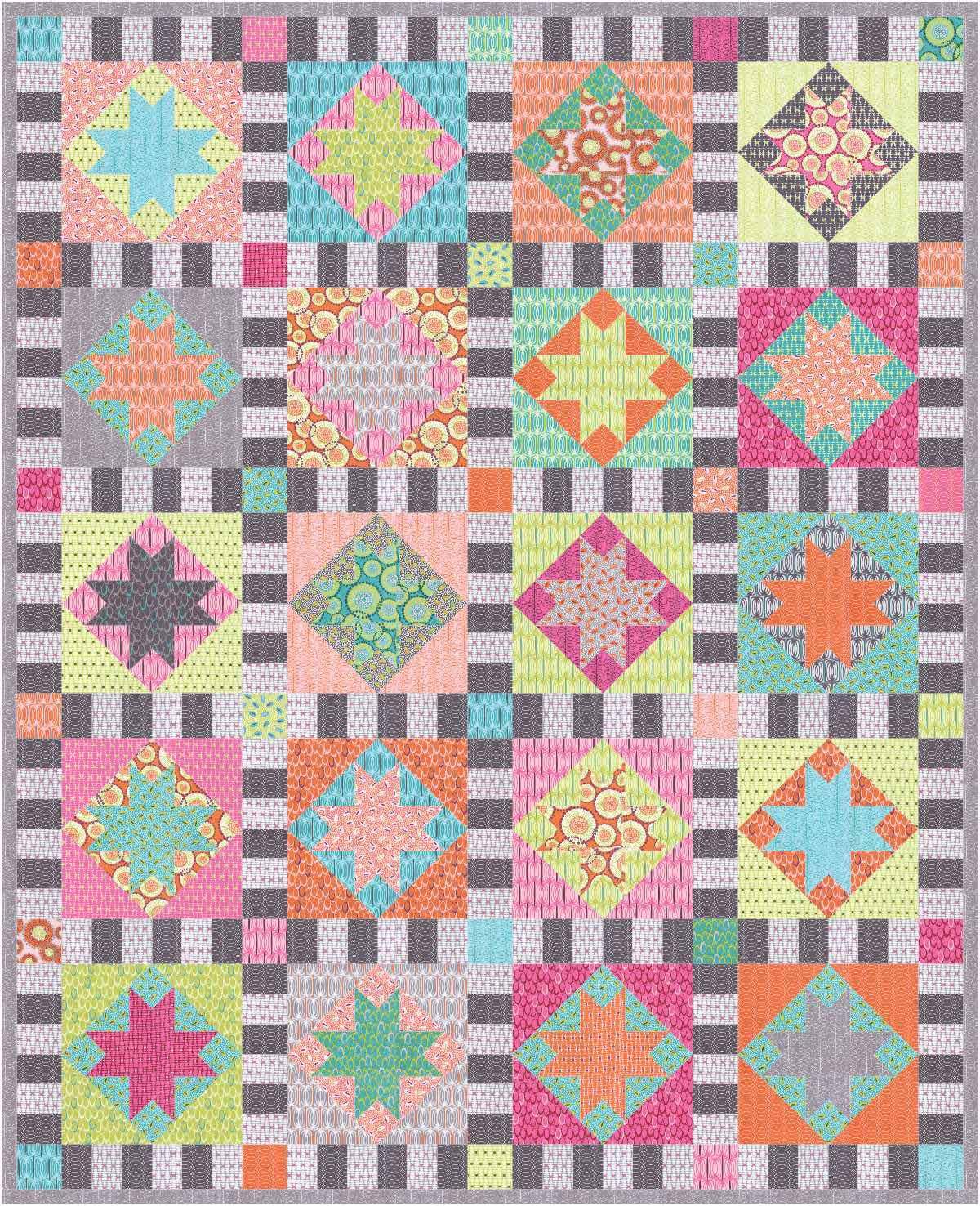 Aunt Em's Quilts - Twinkle