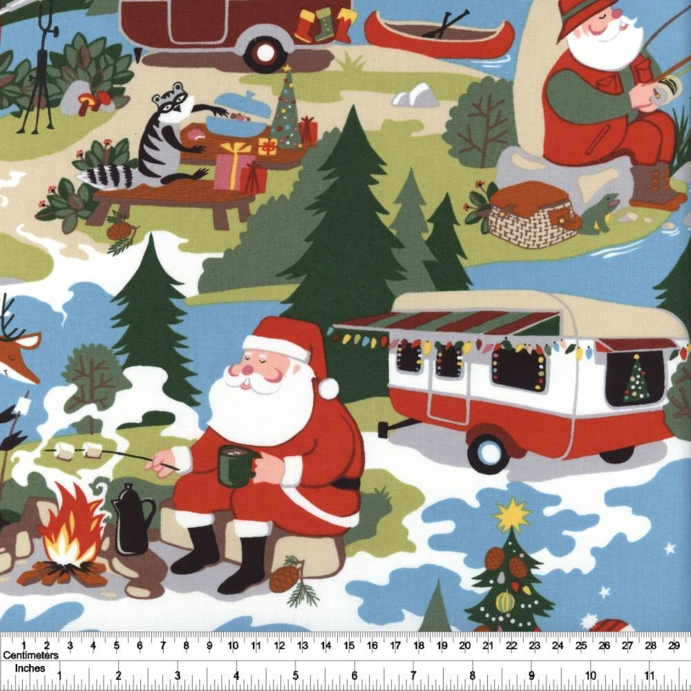 Santa Goes Glamping - Multi
