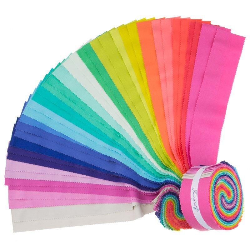 2 1/2 Roll - Tula Pink Designer Solids