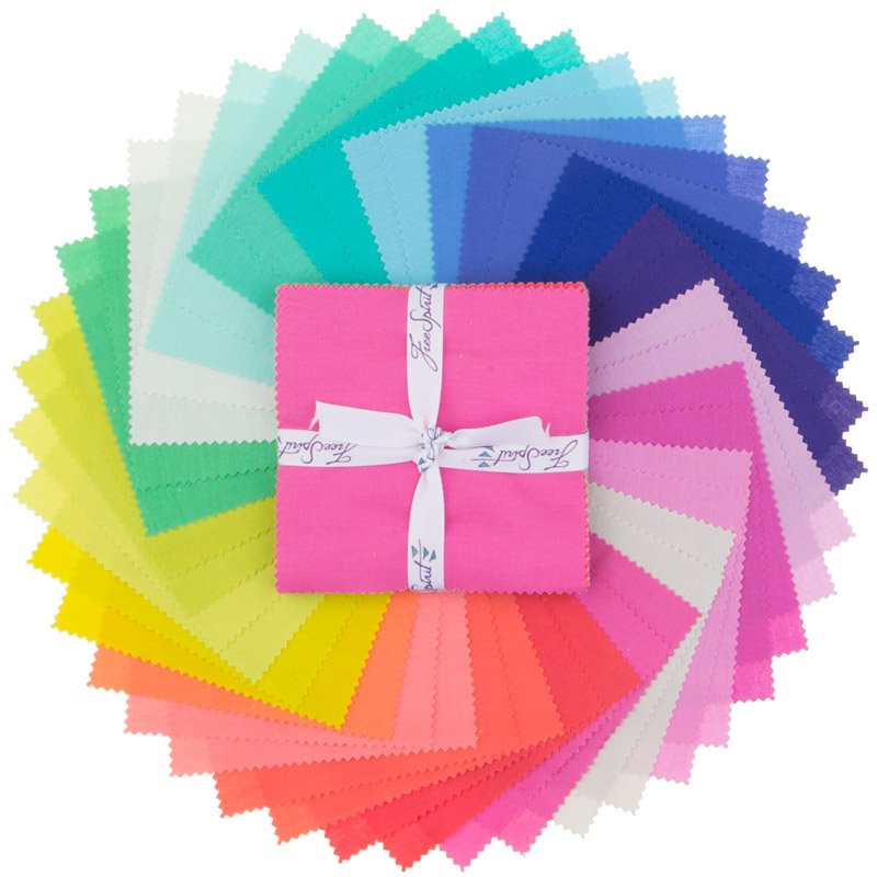 Charm Pack - Tula Pink Designer Solids