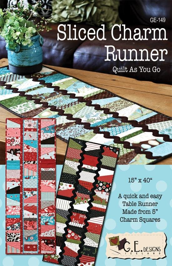 GE Designs - Sliced Charm Runner