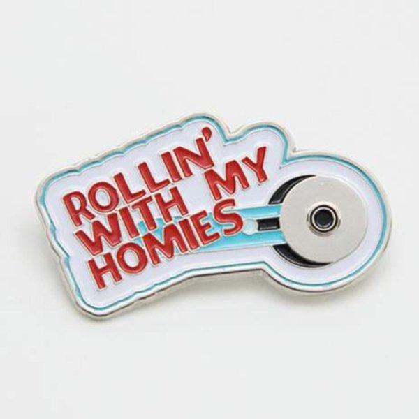 Riley Blake - Rollin' With My Homies Enamel Pin