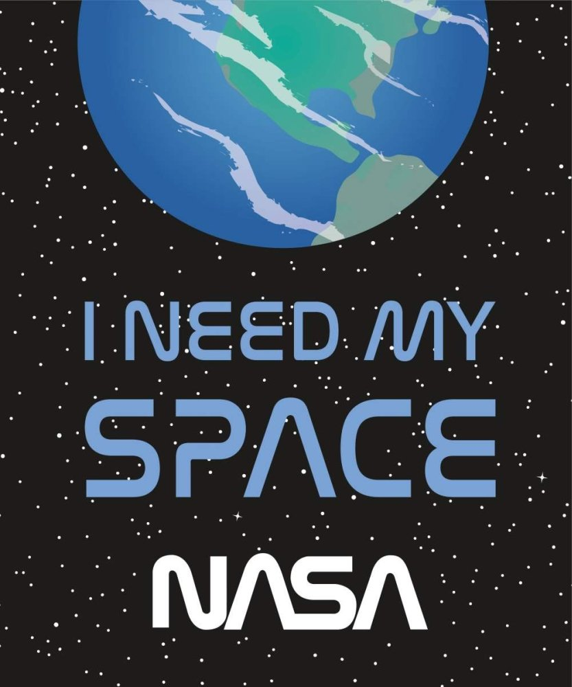 NASA - I Need My Space - Plush Blanket