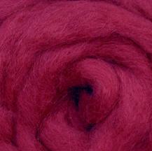 Wool Roving - Berry