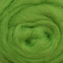 Wool Roving - Lime